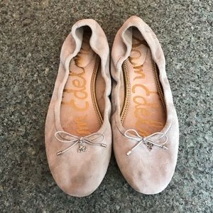 Gray Suede Sam Edelman Flats size 11 *as is*